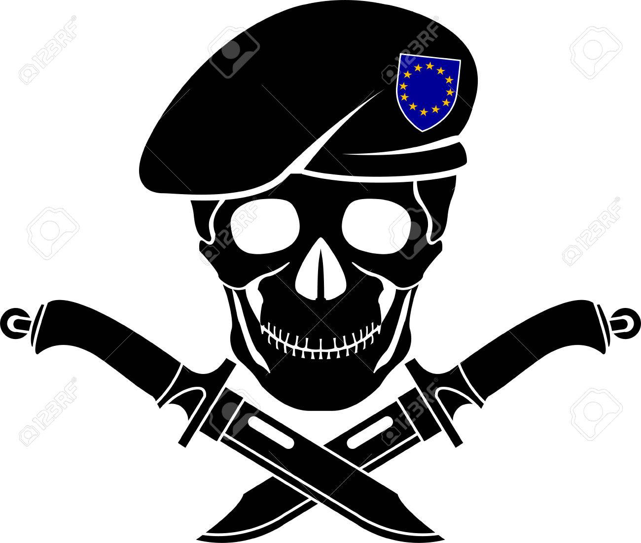 sign of special forces of EU. illustration - 59201144