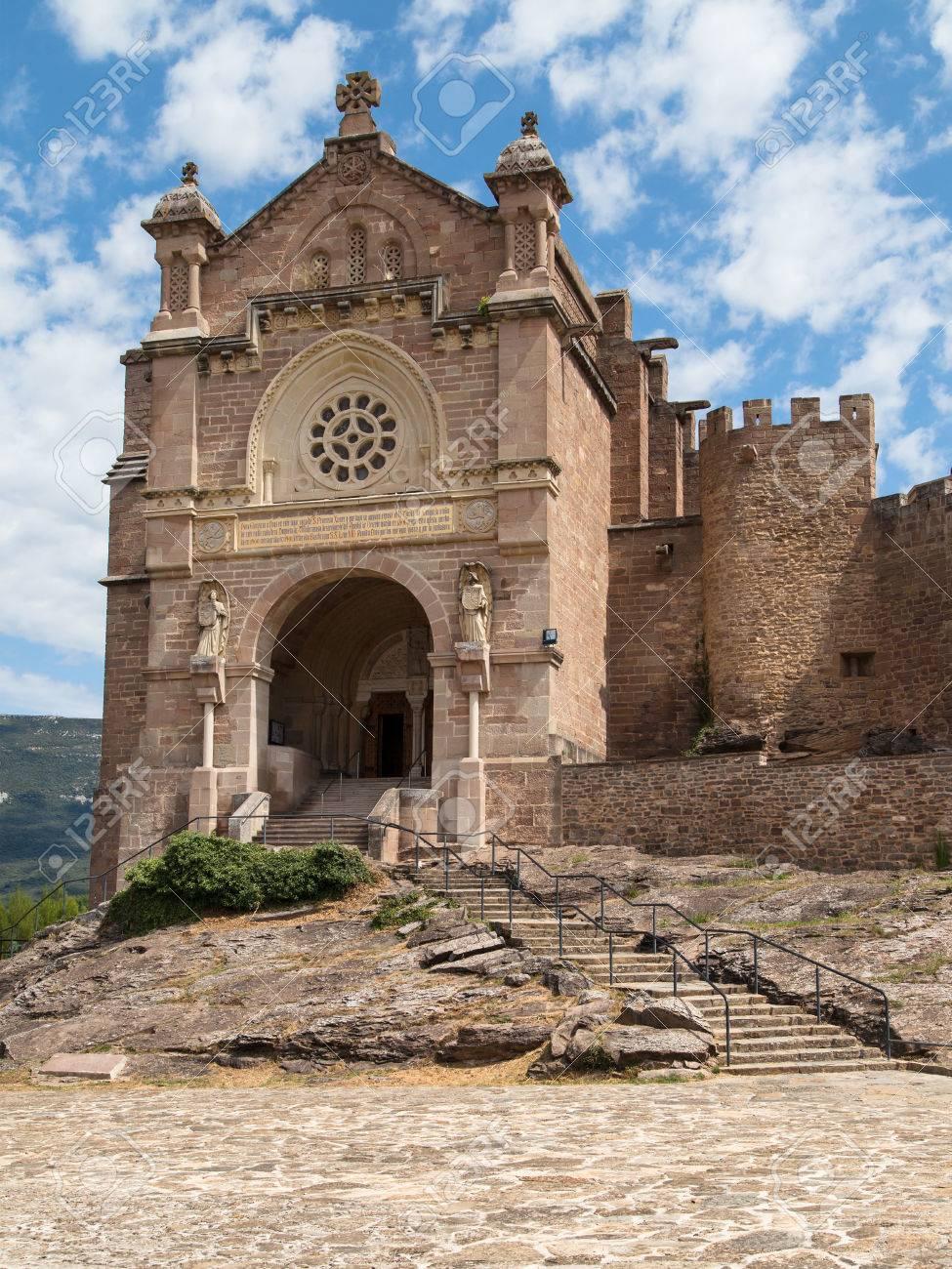 スペイン、ナバラ州のザビエル聖堂。 の写真素材・画像素材 Image ...