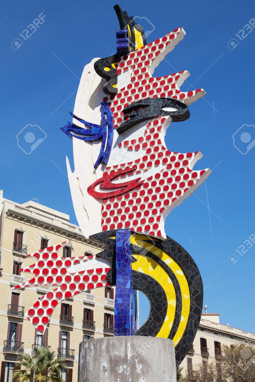 50fec46b228 El Cap De Barcelona By Roy Lichtenstein