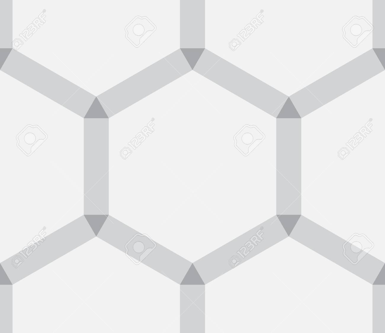 simple hexagonal abstract texture as  background Stock Vector - 18959763