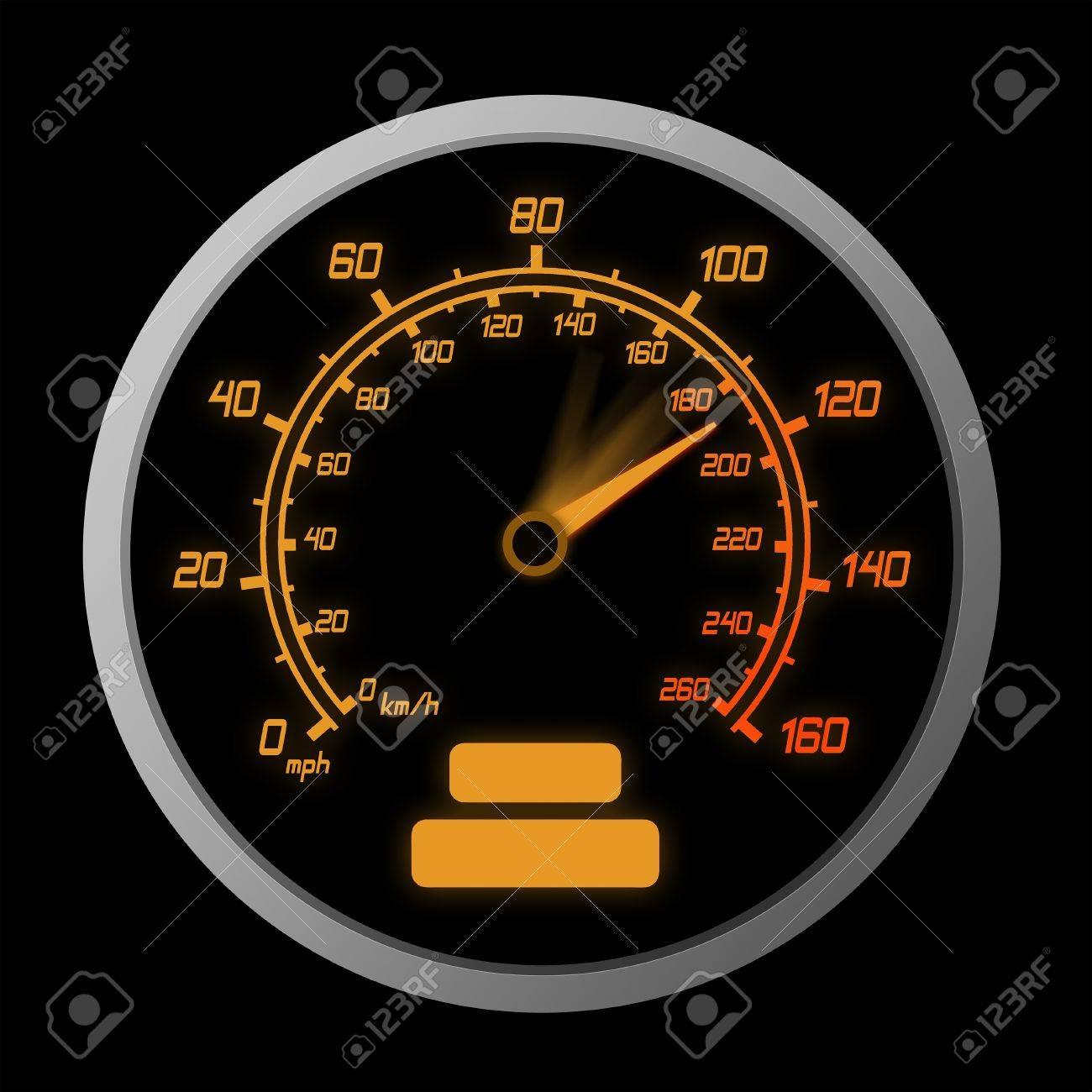 High Speeding – The Red Line Stock Photo - 7775311