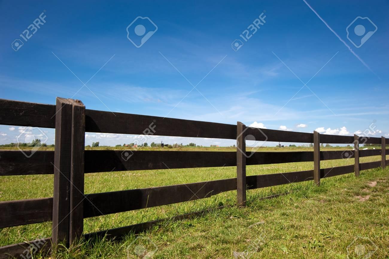 Wooden fence of Amsterdam,netherland Stock Photo - 8370598