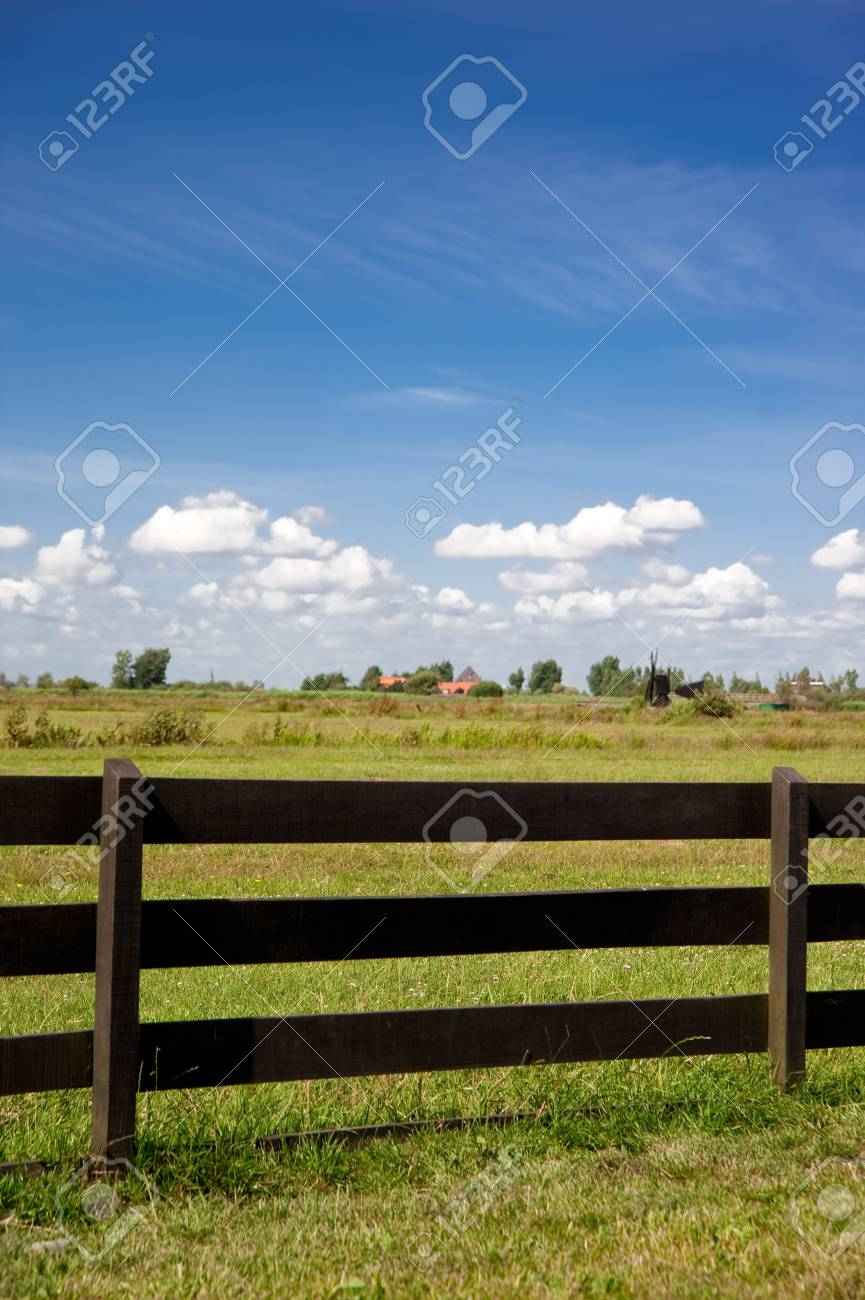 wooden fence of Amsterdam,netherland Stock Photo - 8370715