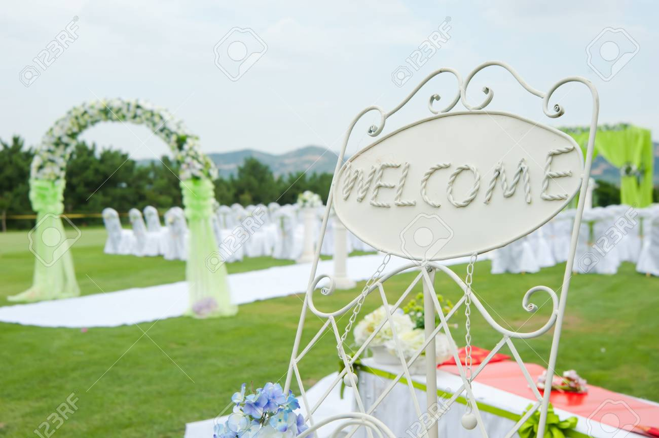 Wedding reception overview Stock Photo - 11611970