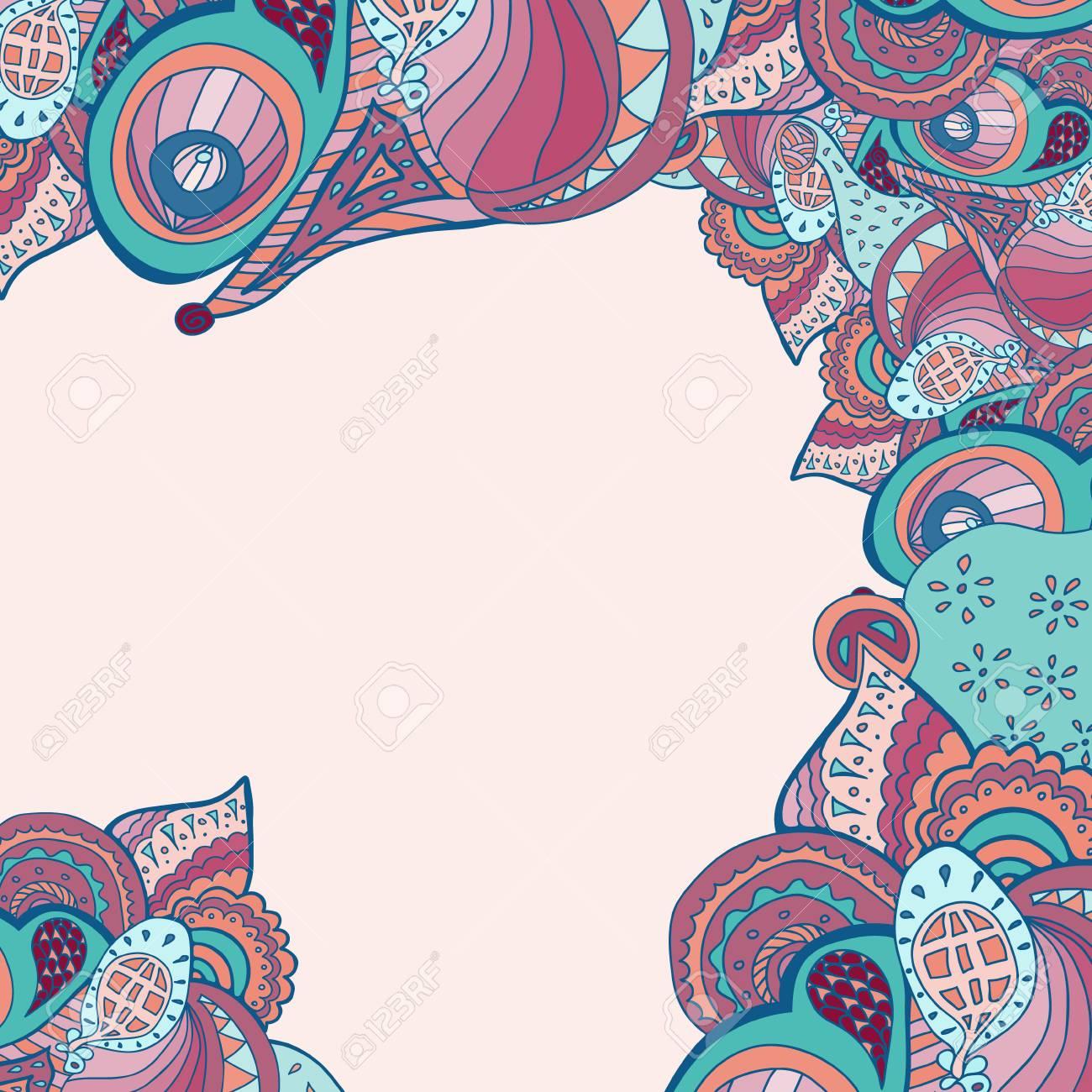 Vector Border Illustration Decorative Element Border For Invitation