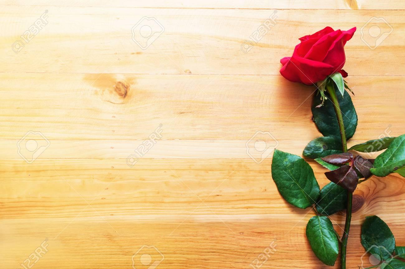 Rote Rose Für Valentinstag, Glückliche Feier Des Neuen Jahres, Die ...