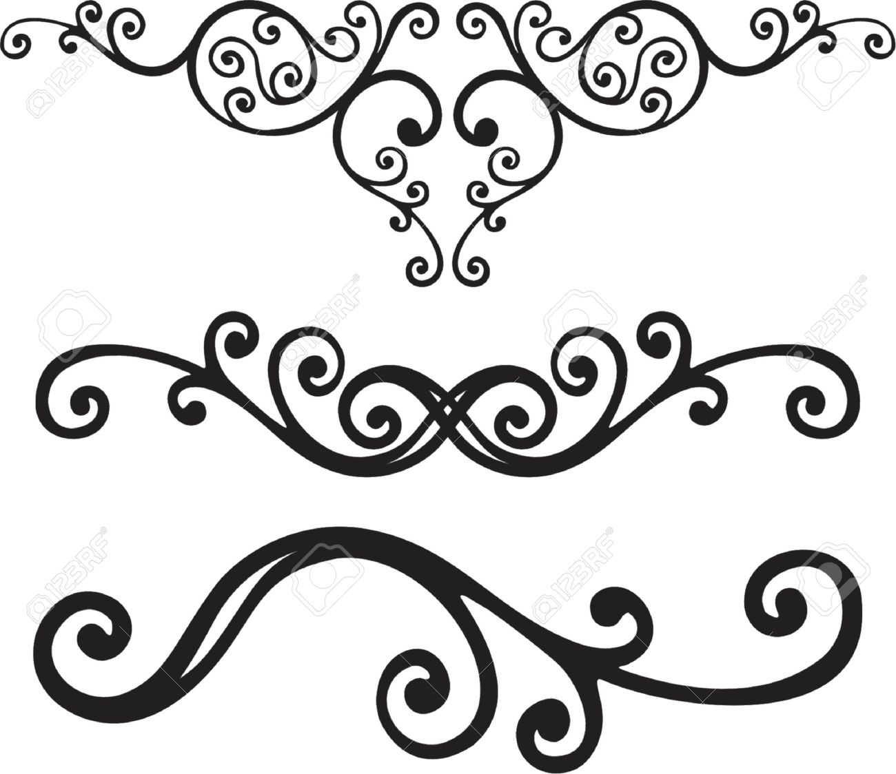 vector ornament In flower style Stock Vector - 1029129