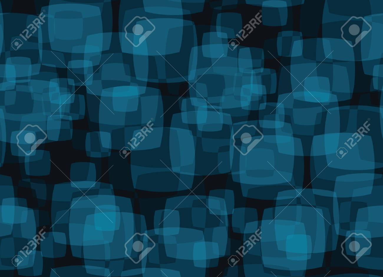 seamless vector background with abstract tv ornament Stock Vector - 3834764