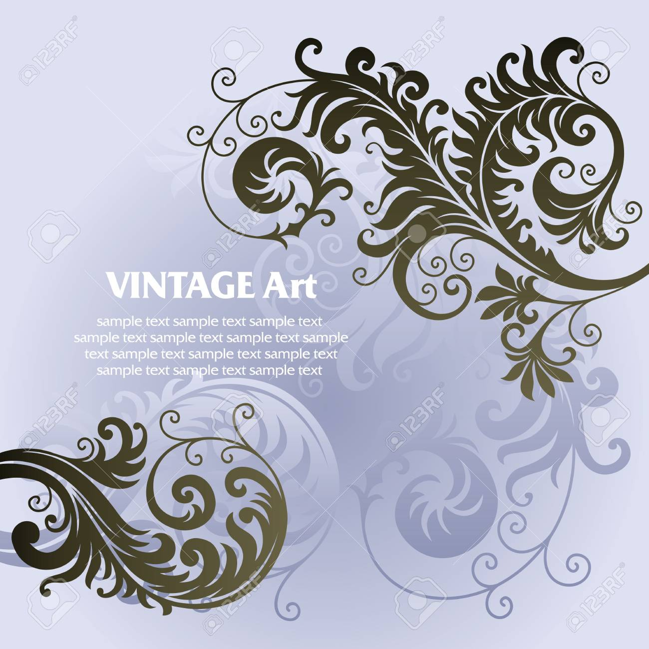 ornament In flower style Stock Vector - 6656433
