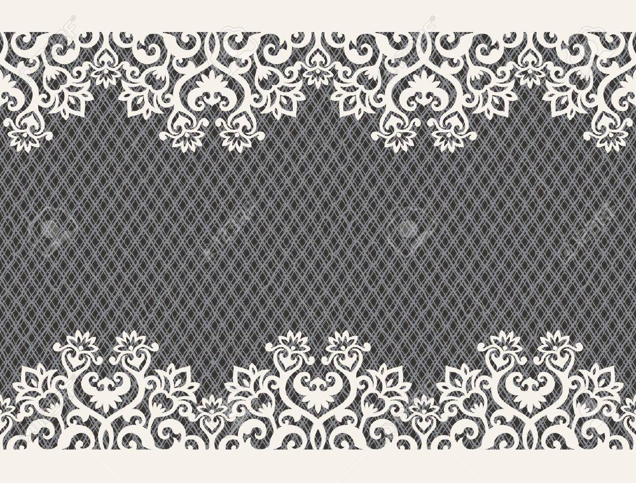 horizontal seamless background from a floral ornament Stock Vector - 6656485