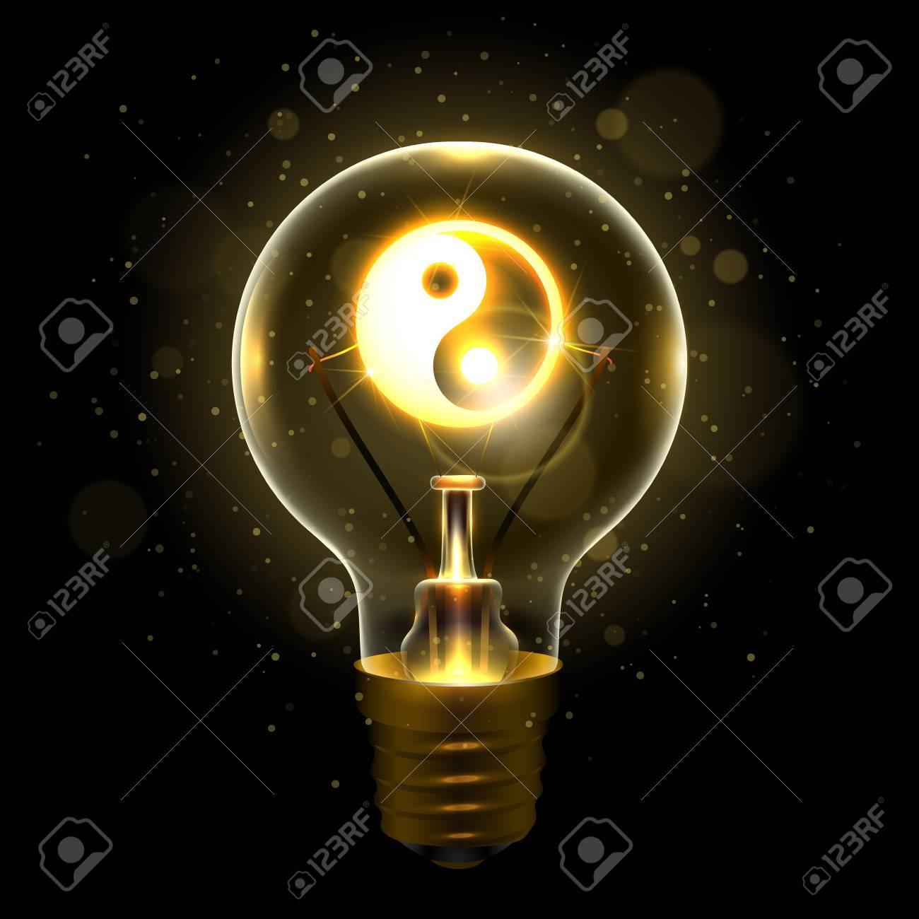 Realistic lamp with the yin yang symbol royalty free cliparts realistic lamp with the yin yang symbol stock vector 89334144 buycottarizona Choice Image