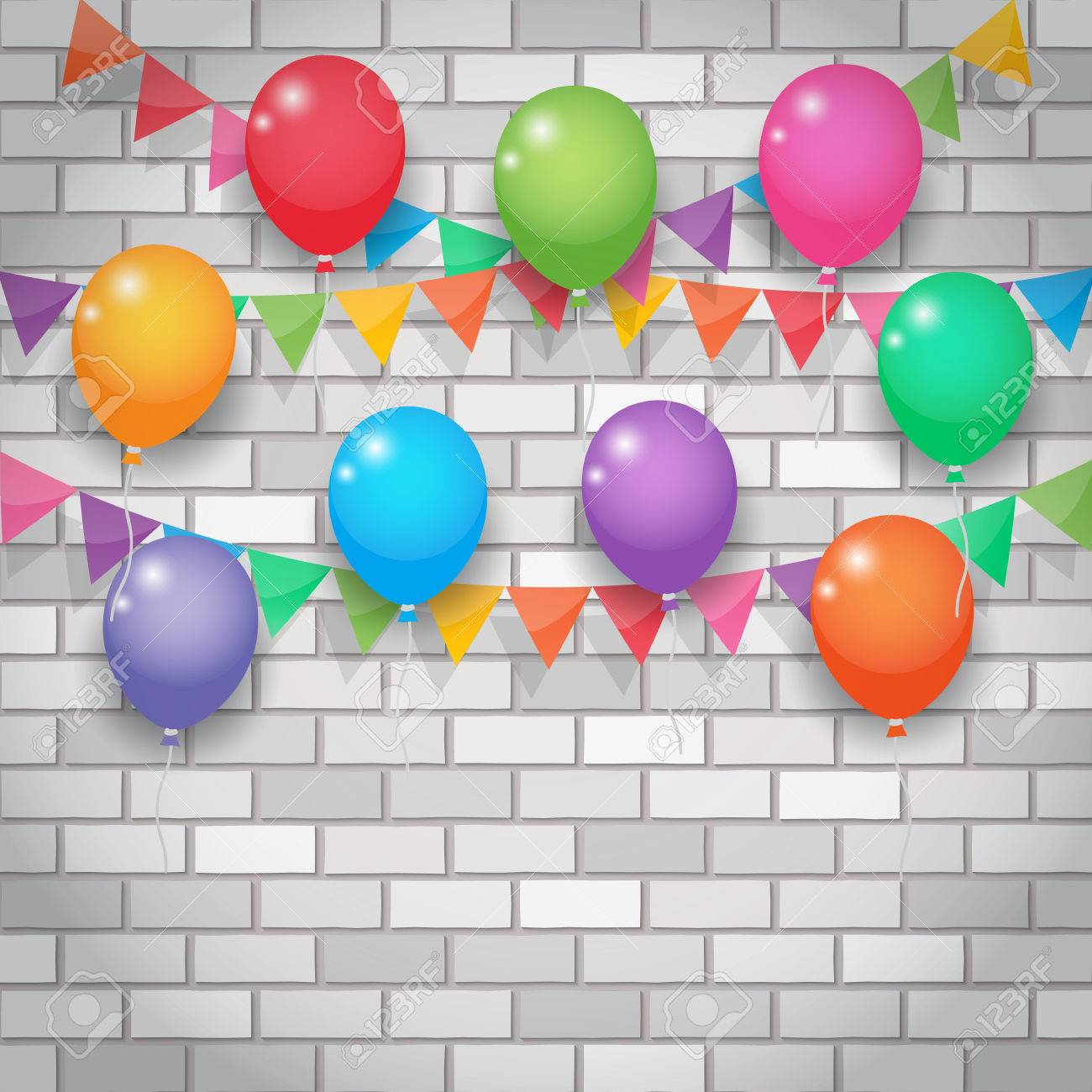 Wall decoration party choice image home wall decoration ideas wall decoration party image collections home wall decoration ideas balloon and bunting garland decoration party flags amipublicfo Image collections