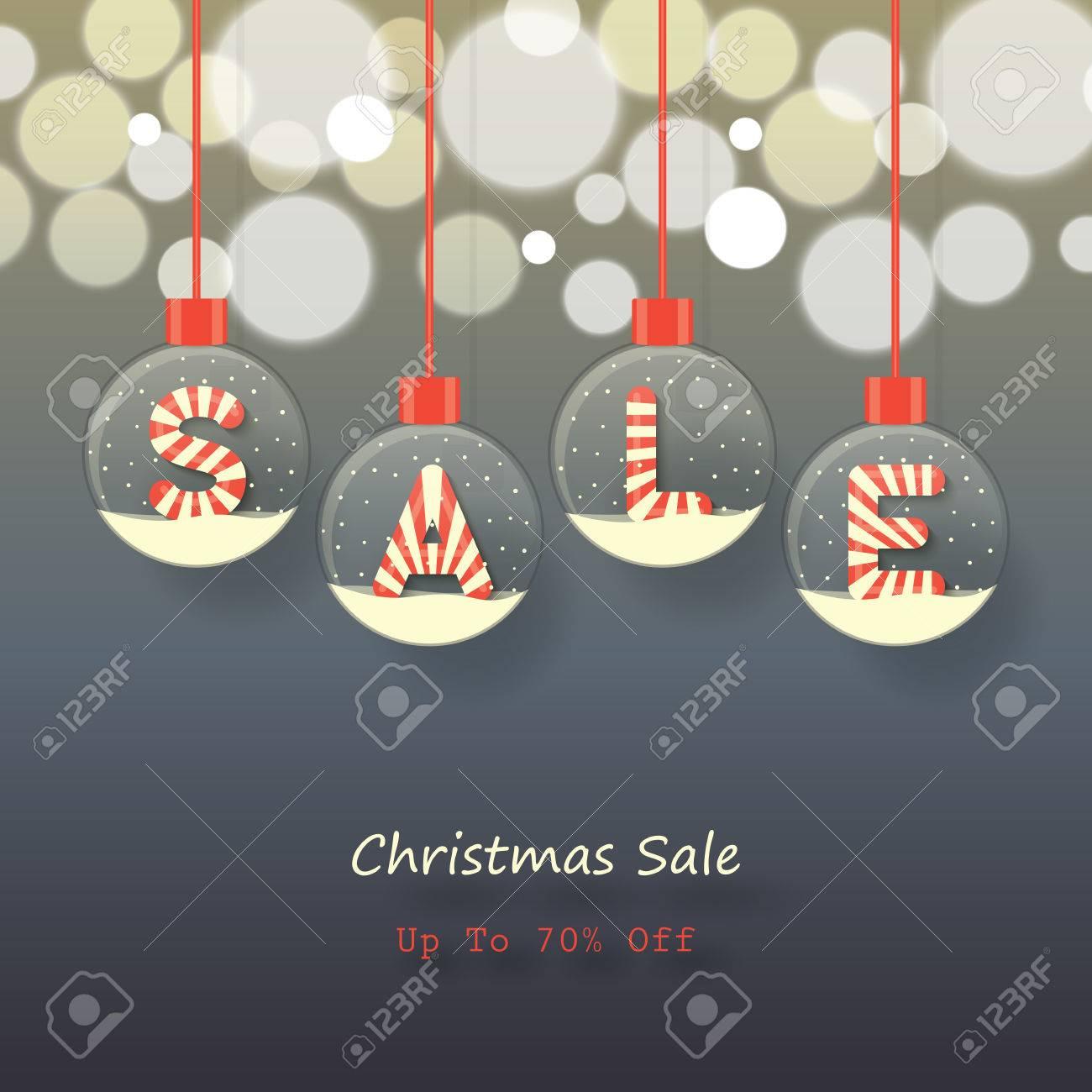 Verkauf Zeichen In Roten Und Weißen Weihnachten Süße Art In ...