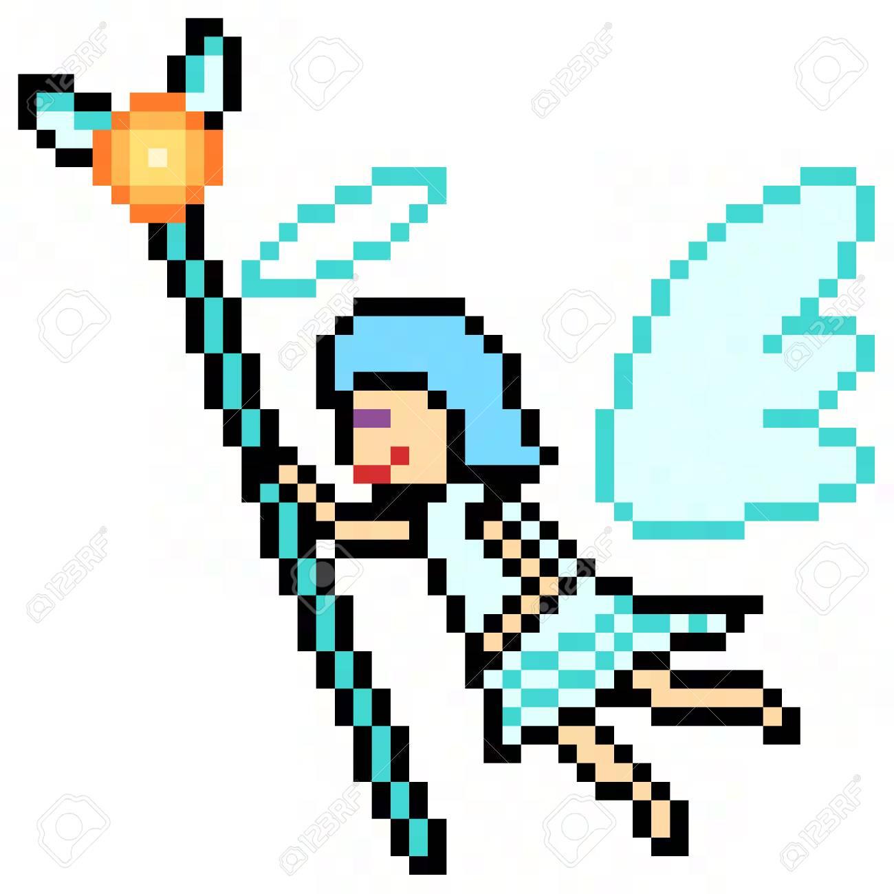 Pixel Art Angel