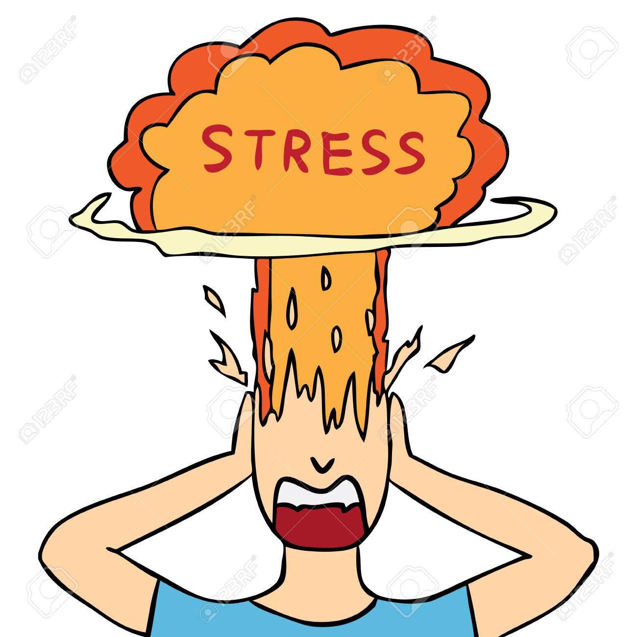 Resultado de imagen para estres y cerebro