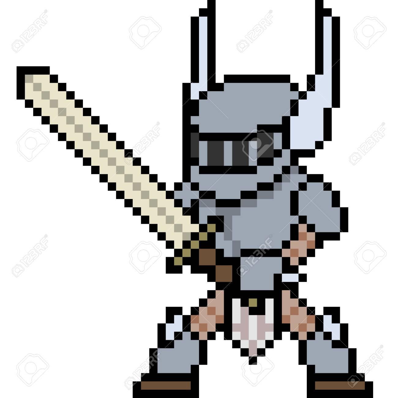Ideas For Pixel Art Knight @KoolGadgetz.com