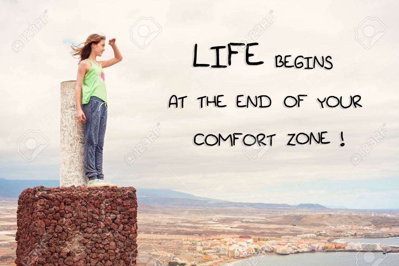 End Of Life Quotes Inspirational Life Begins At The End Of Your Comfort Zoneinspirational