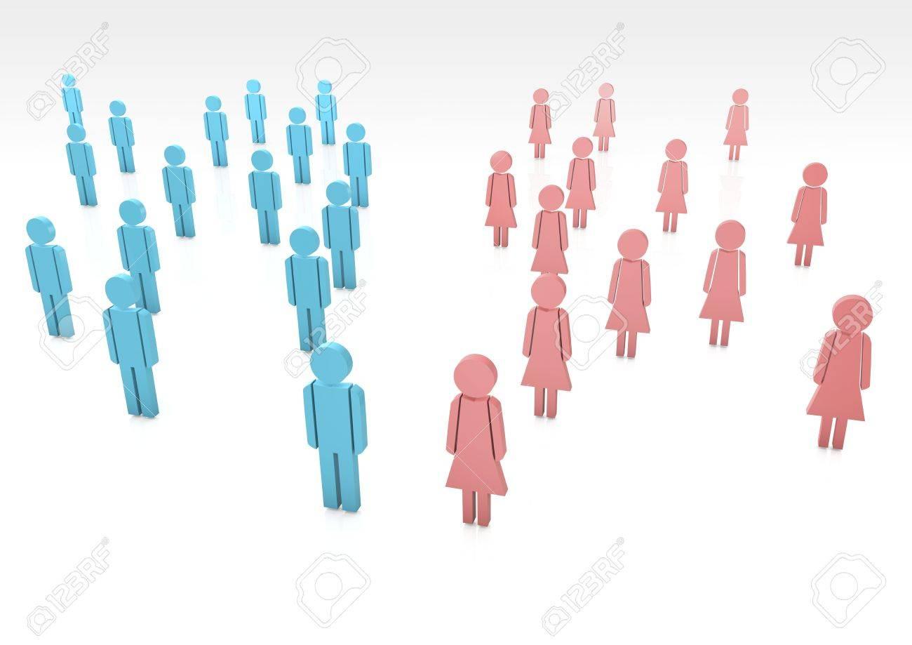 Frauen am Geschlecht Pussey-Bilder