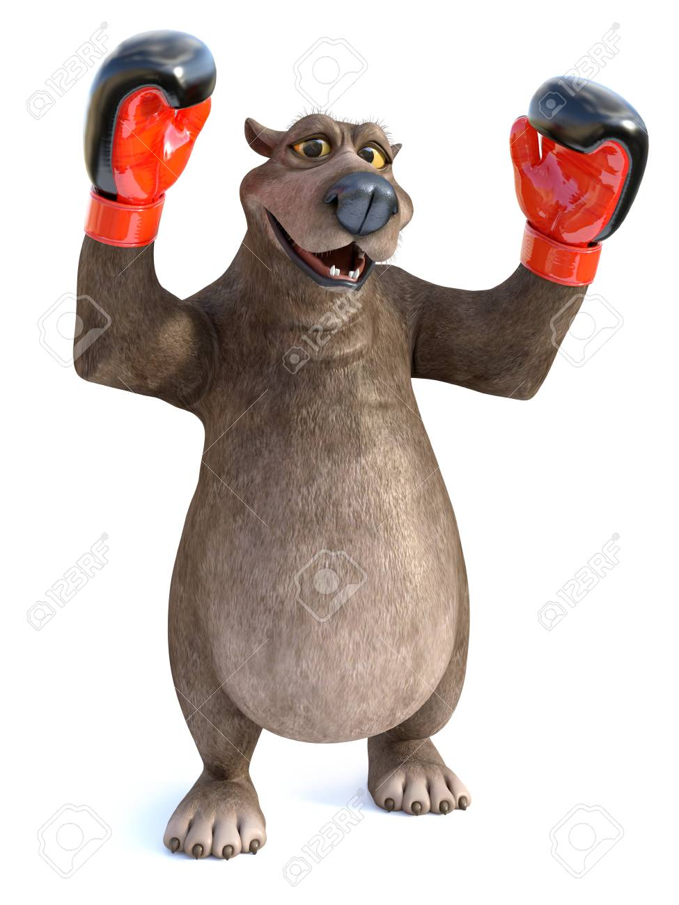 Séries de la Coupe Stanley CH... - Page 10 97550683-3d-rendering-of-a-charming-cartoon-bear-wearing-boxing-gloves-he-looks-like-a-winning-champion-white