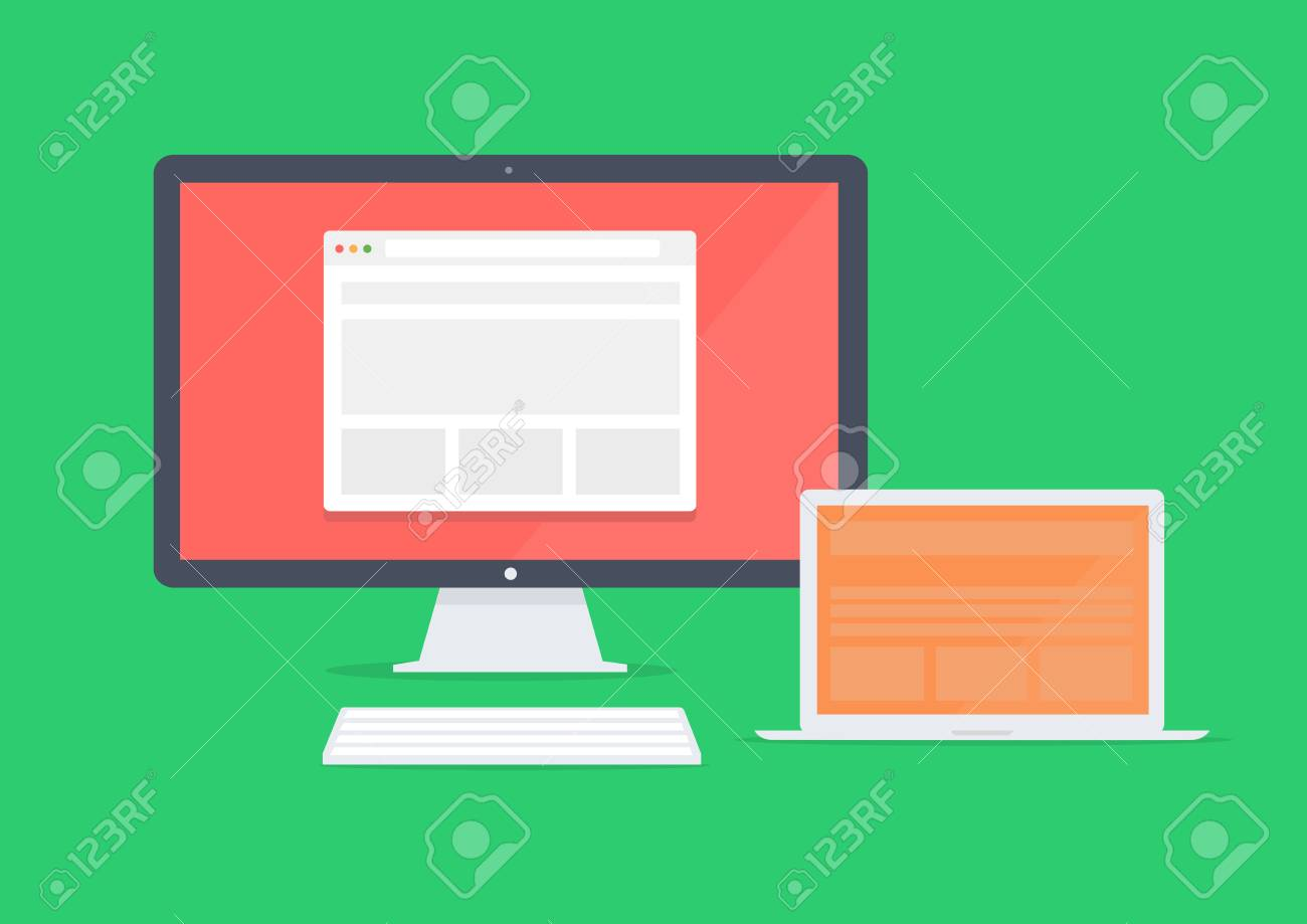 Responsive devices Stock Vector - 26309031