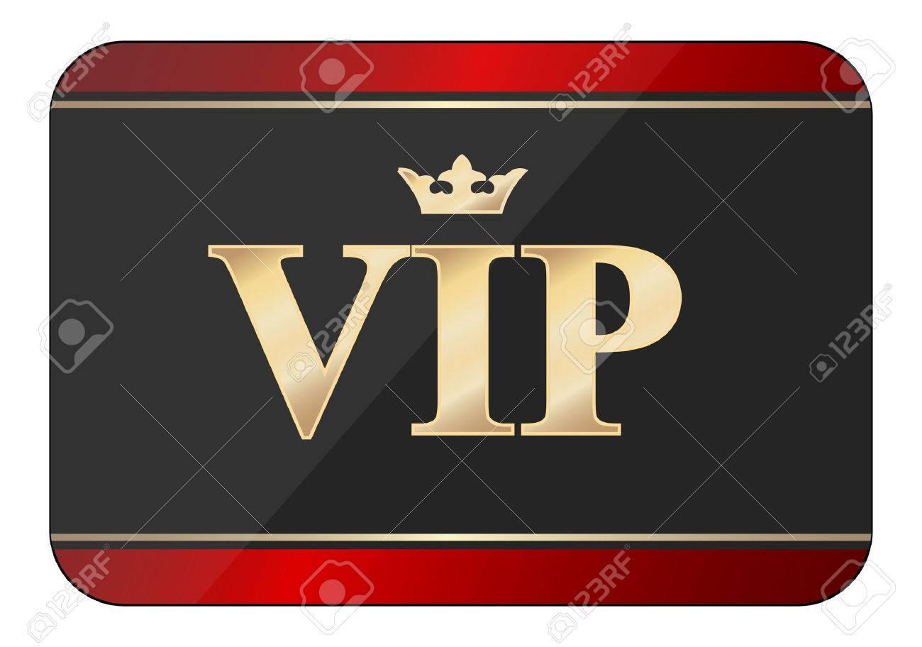 vip card icon - 26310395