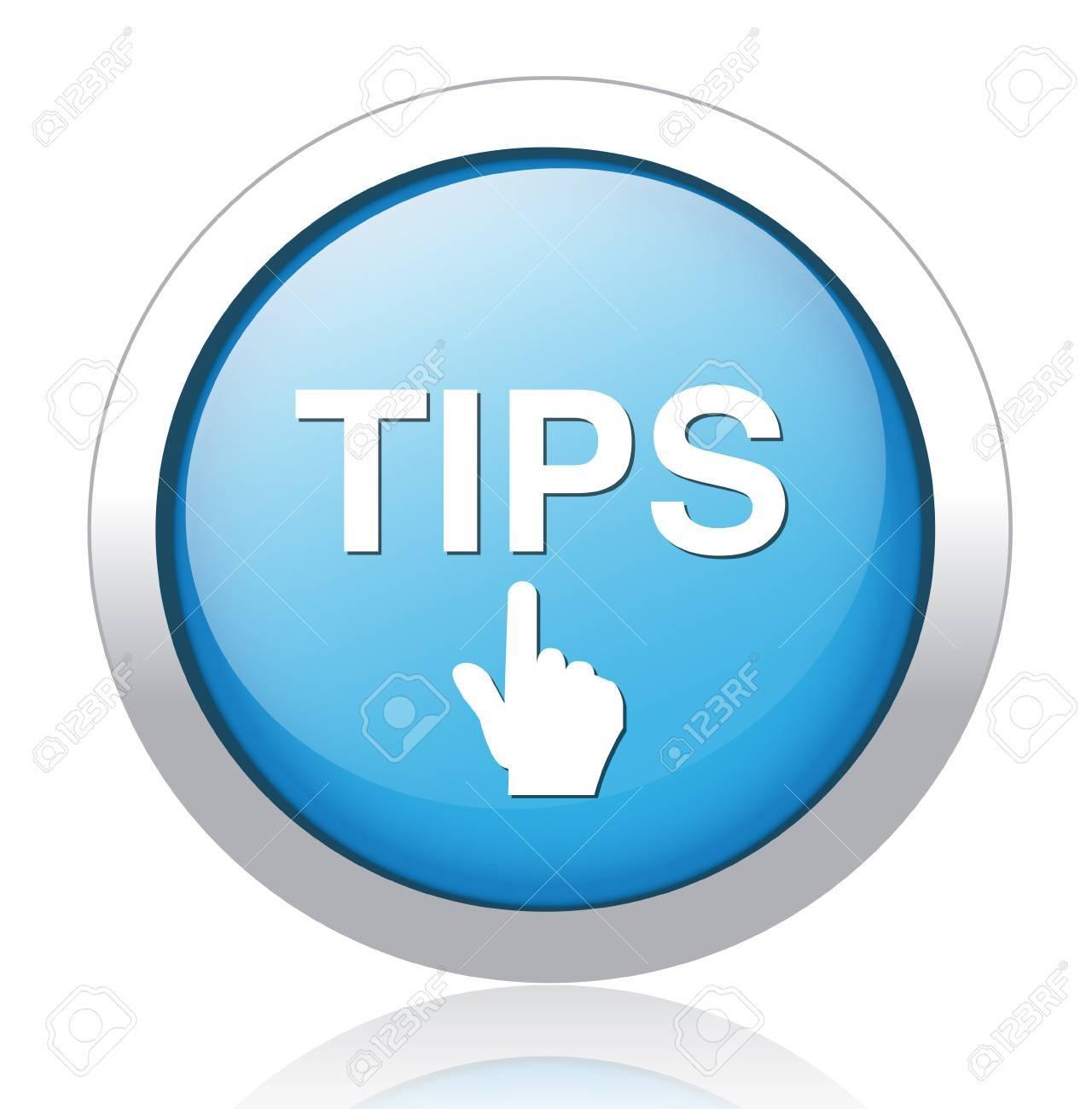 Tips Button - 26699301