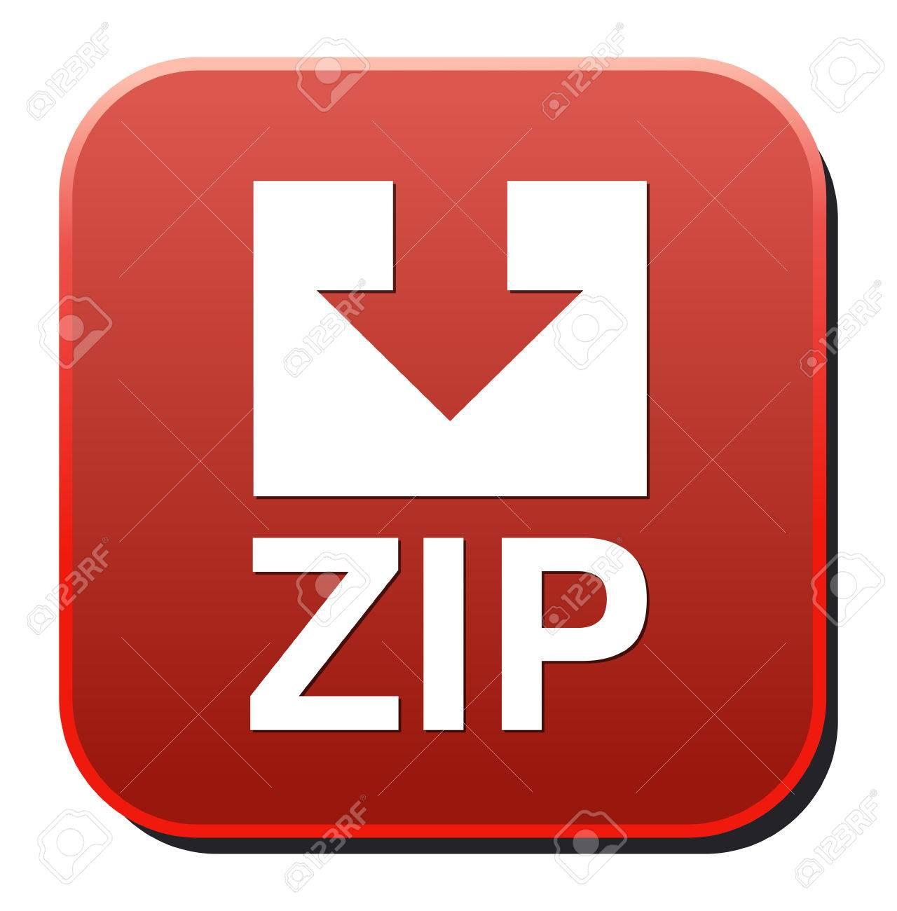 Zip file icon Stock Vector - 26991920