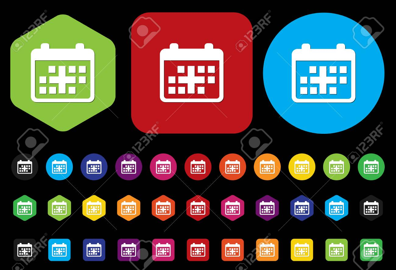Calendar icon Stock Vector - 28673802