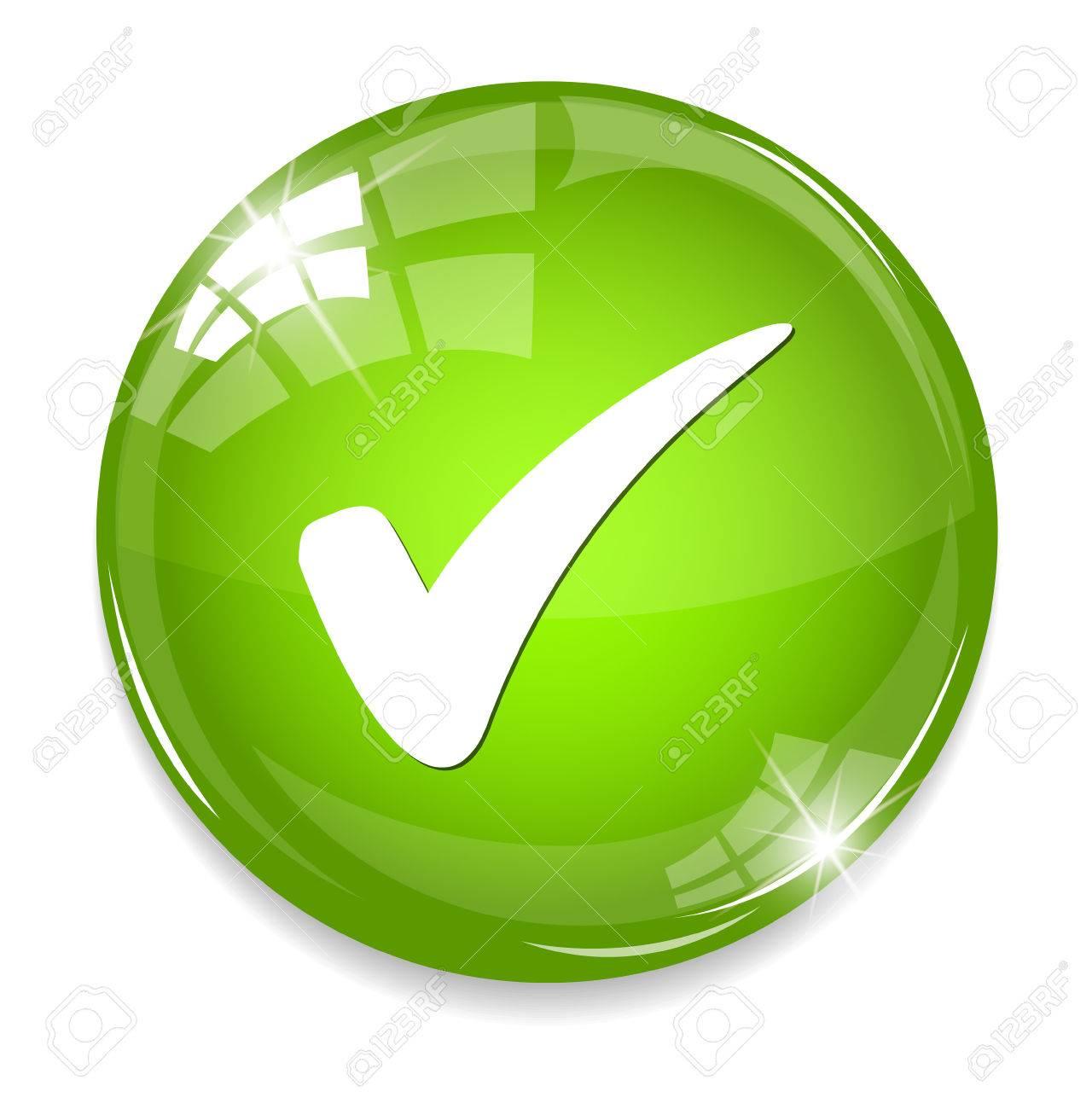 check mark button - 32952365