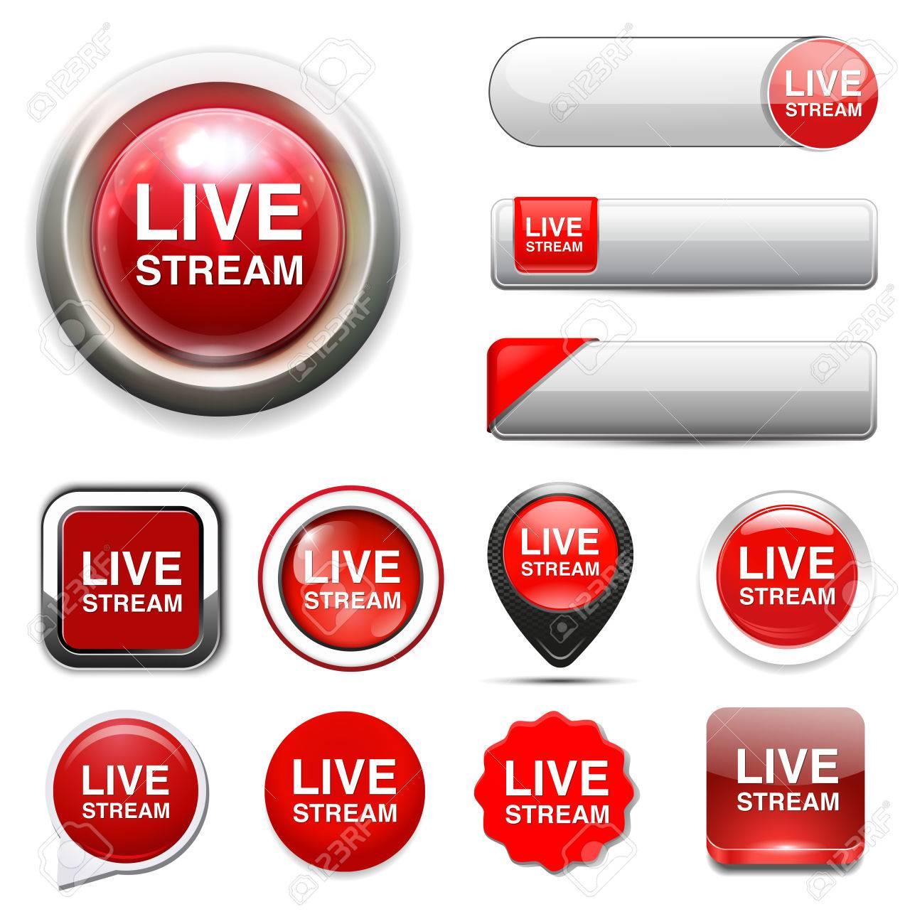 live stream icon - 38075558