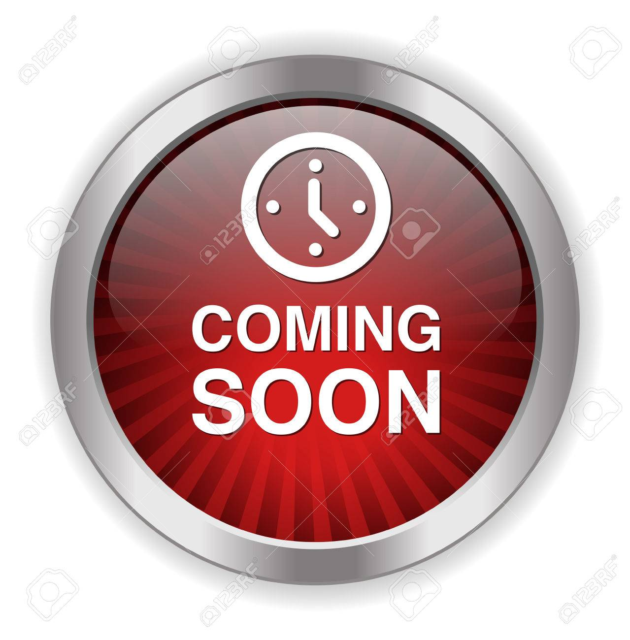 Coming soon button - 38292291