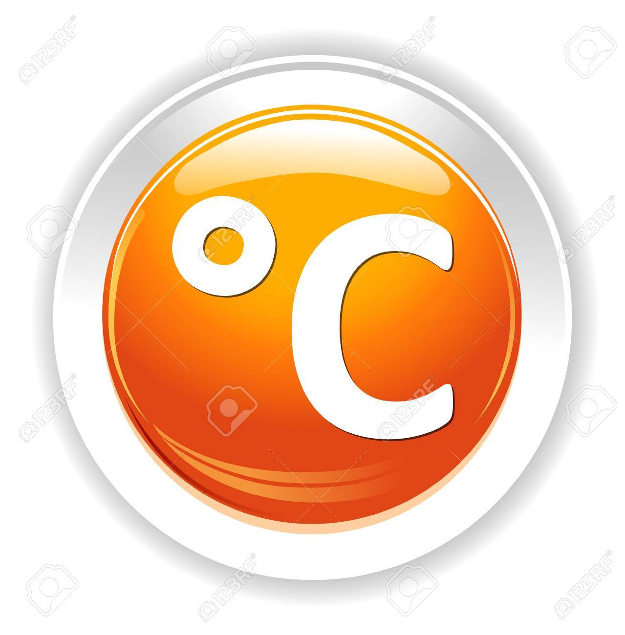 weather c degree icon royalty free cliparts vectors and stock