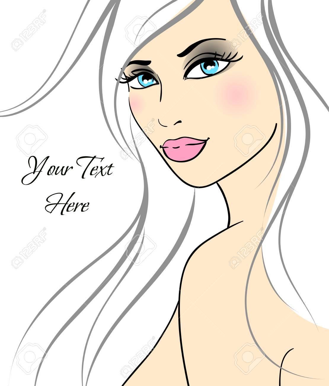 Beautiful girl in fashion style. Stock Vector - 10917784