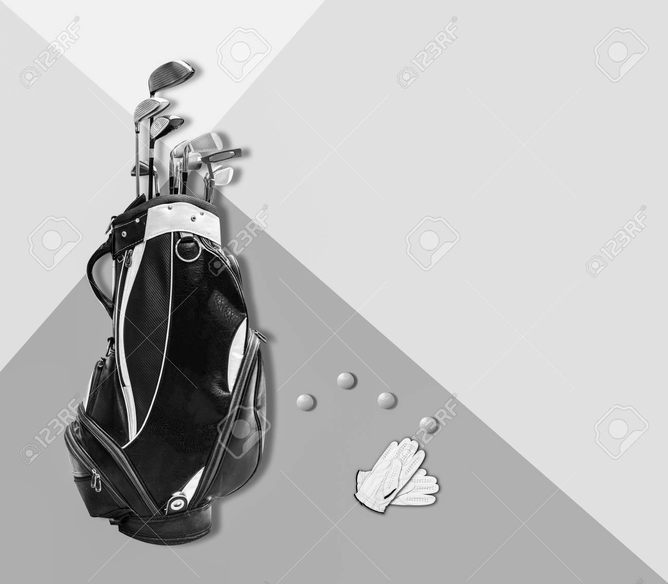 Golf Summer Is Coming Concept Golf Equipment Golf Bag And Golf Stock Photo Picture And Royalty Free Image Image 101546834