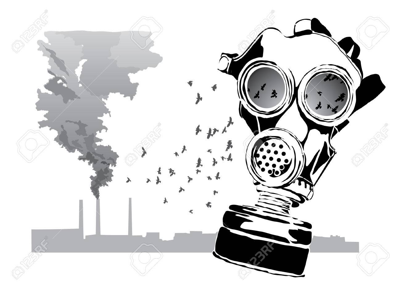 Gas mask Stock Vector - 5200271