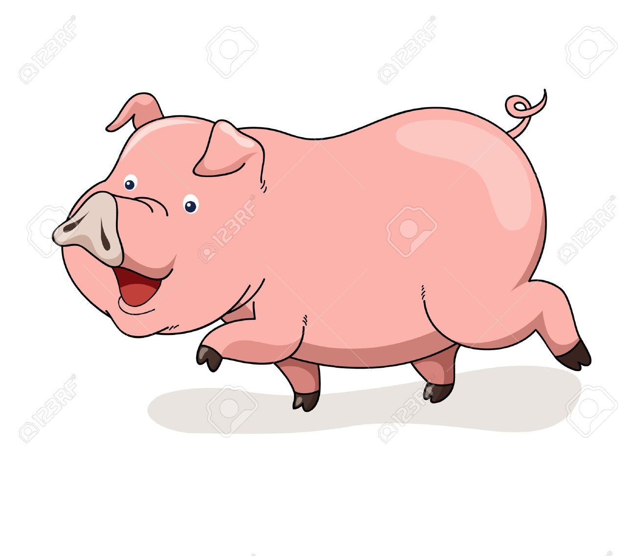 cartoon pig vector royalty free cliparts vectors and stock rh 123rf com pig factory youtube pig factor plan
