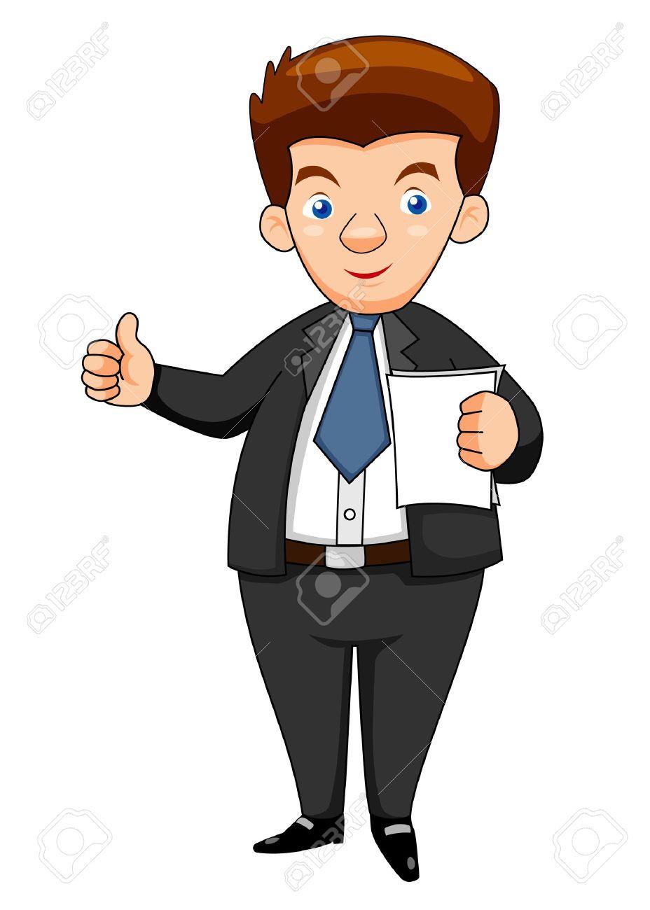 Business man  illustration Stock Vector - 14812622