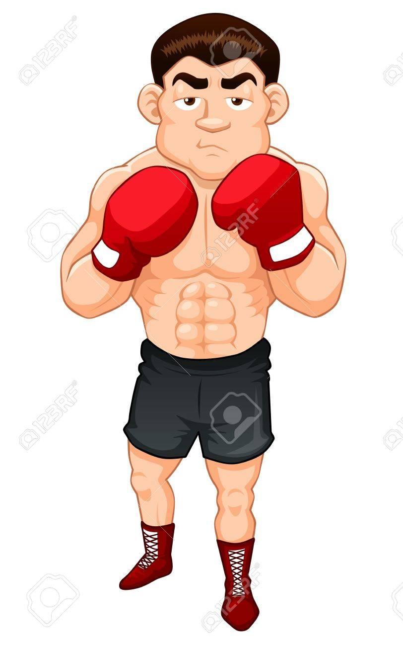 漫画のボクサーのイラストのイラスト素材 ベクタ Image 15483375