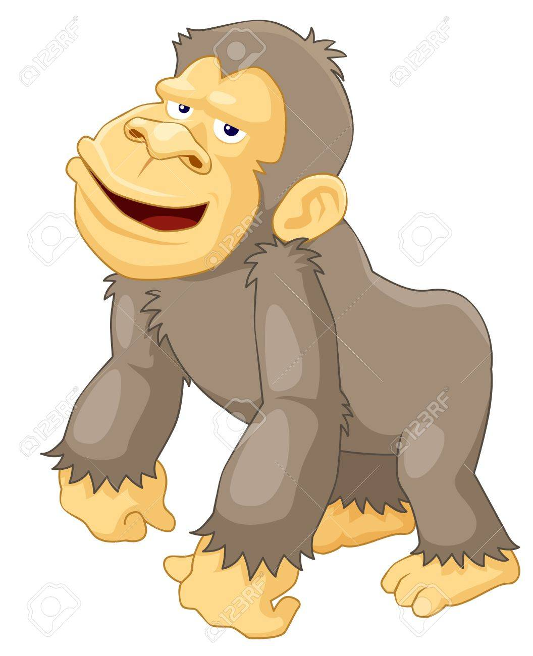 illustration of monkeys royalty free cliparts vectors and stock