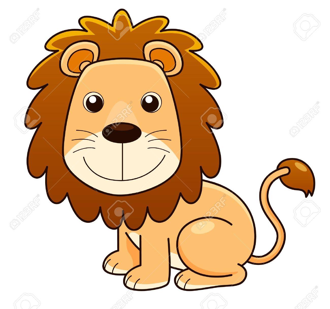 illustration of lion cartoon vector royalty free cliparts vectors rh 123rf com cartoon lion images download lion cartoon images hd