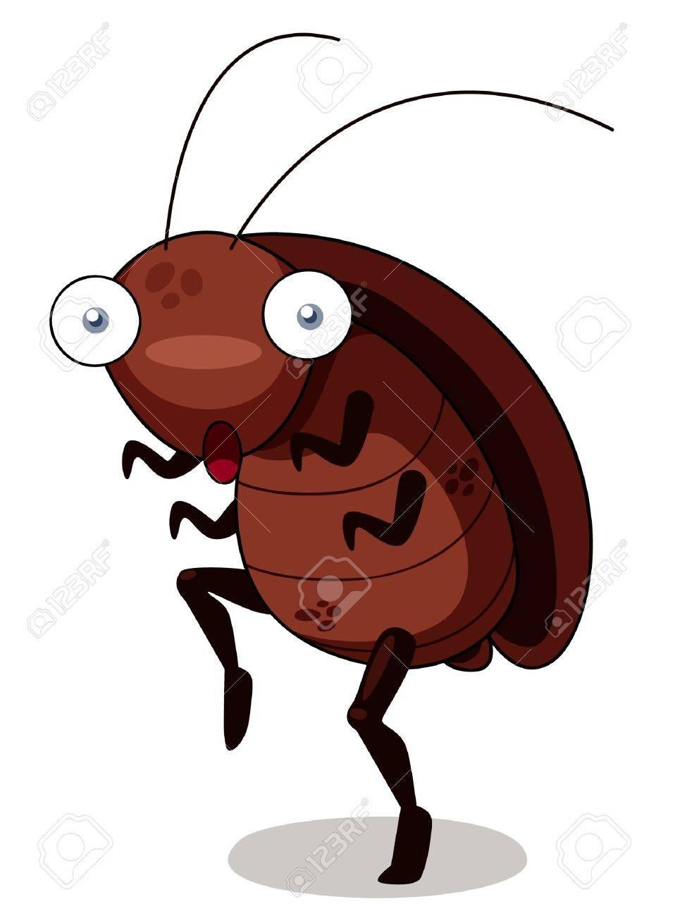 ゴキブリ漫画のイラストのイラスト素材ベクタ Image 16261562