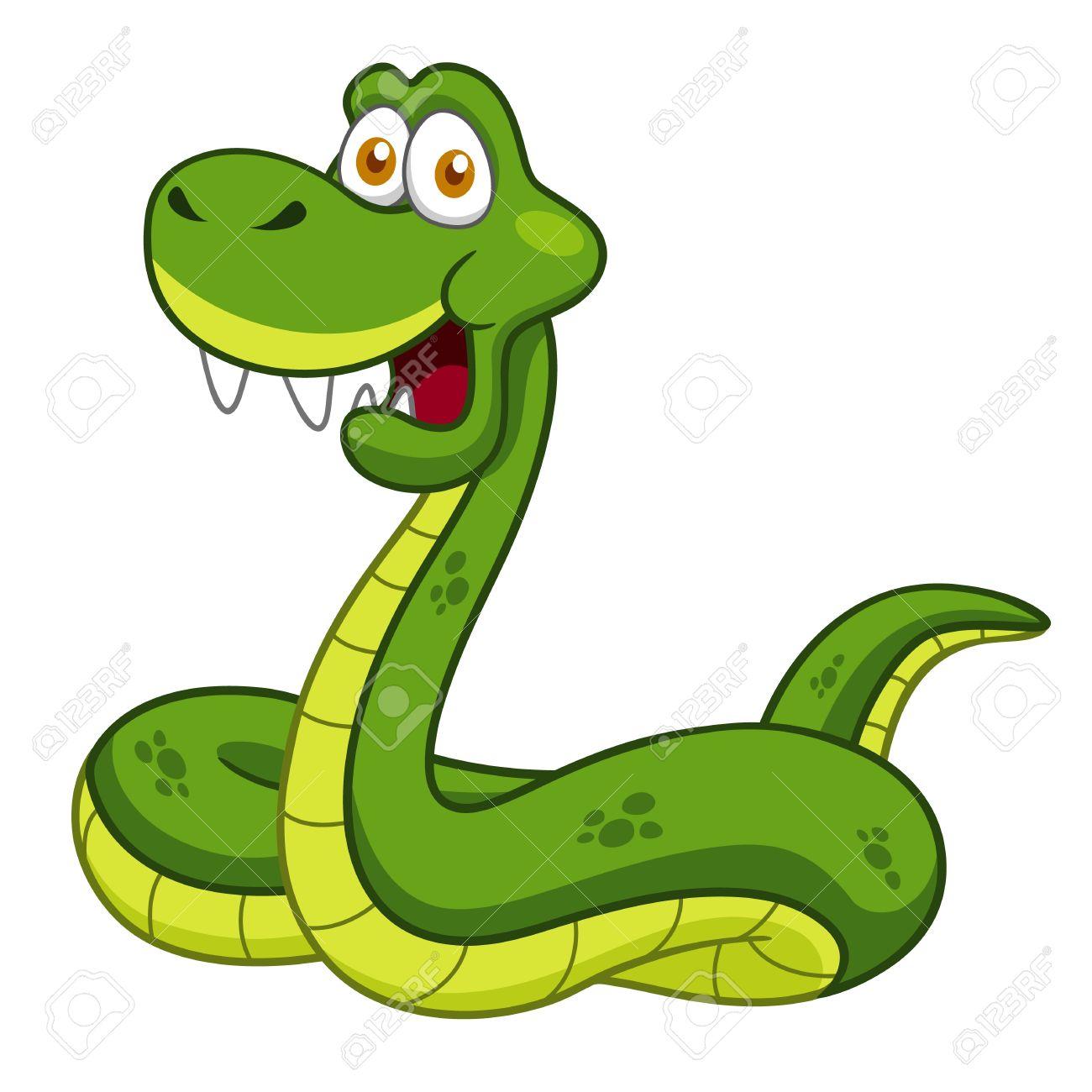 Illustration of Cartoon Snake Stock Vector - 16992089