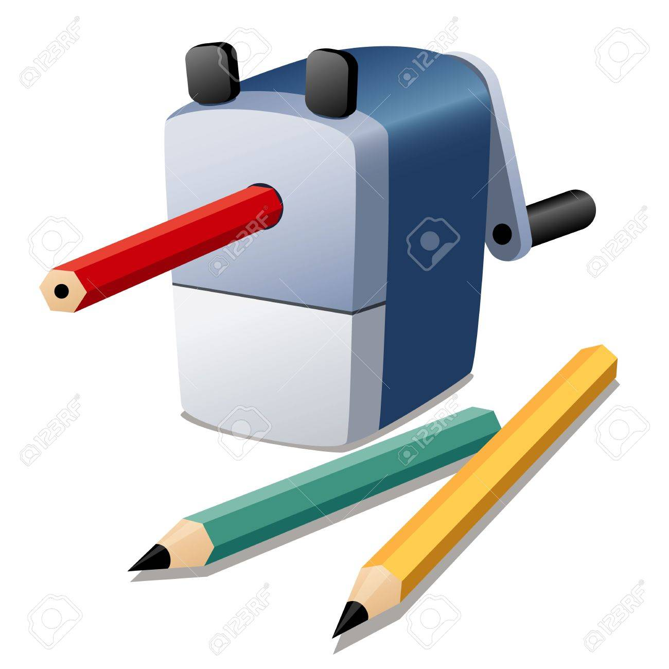 illustration of Pencil sharpener Stock Vector - 17338233