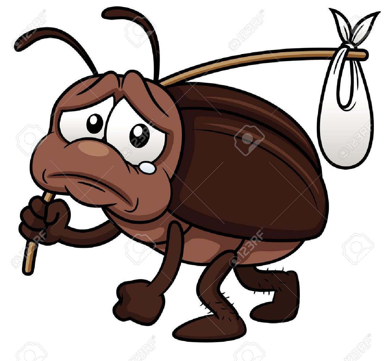ゴキブリ漫画のイラストが出るのイラスト素材ベクタ Image 17813699