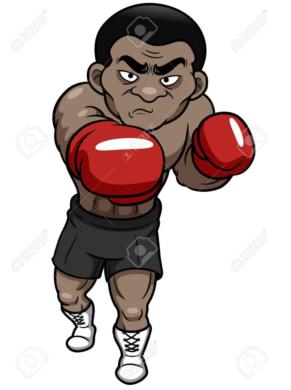 漫画のボクサーのイラストのイラスト素材 ベクタ Image 17948515