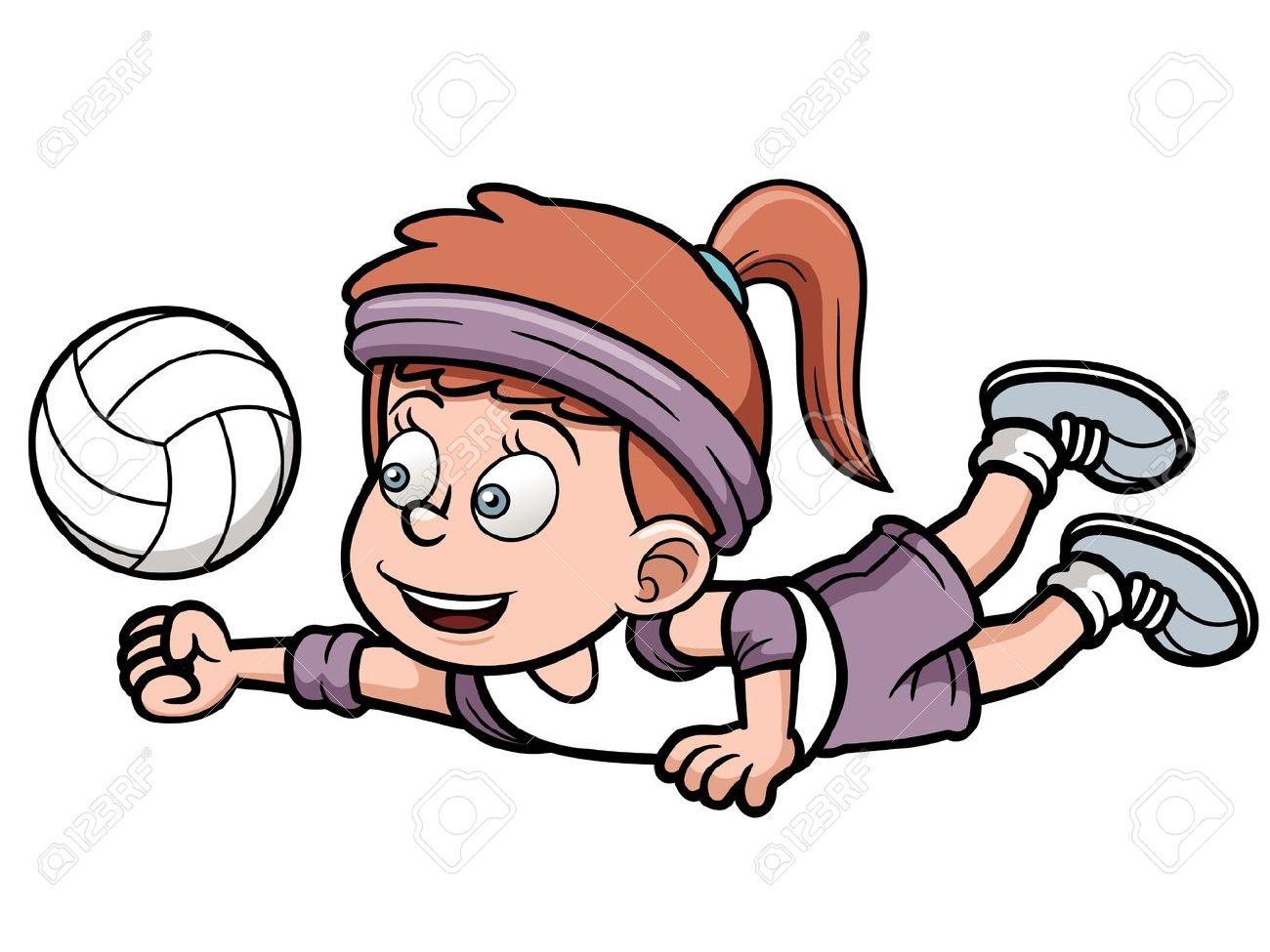 Resultado de imagen para volleyball animado