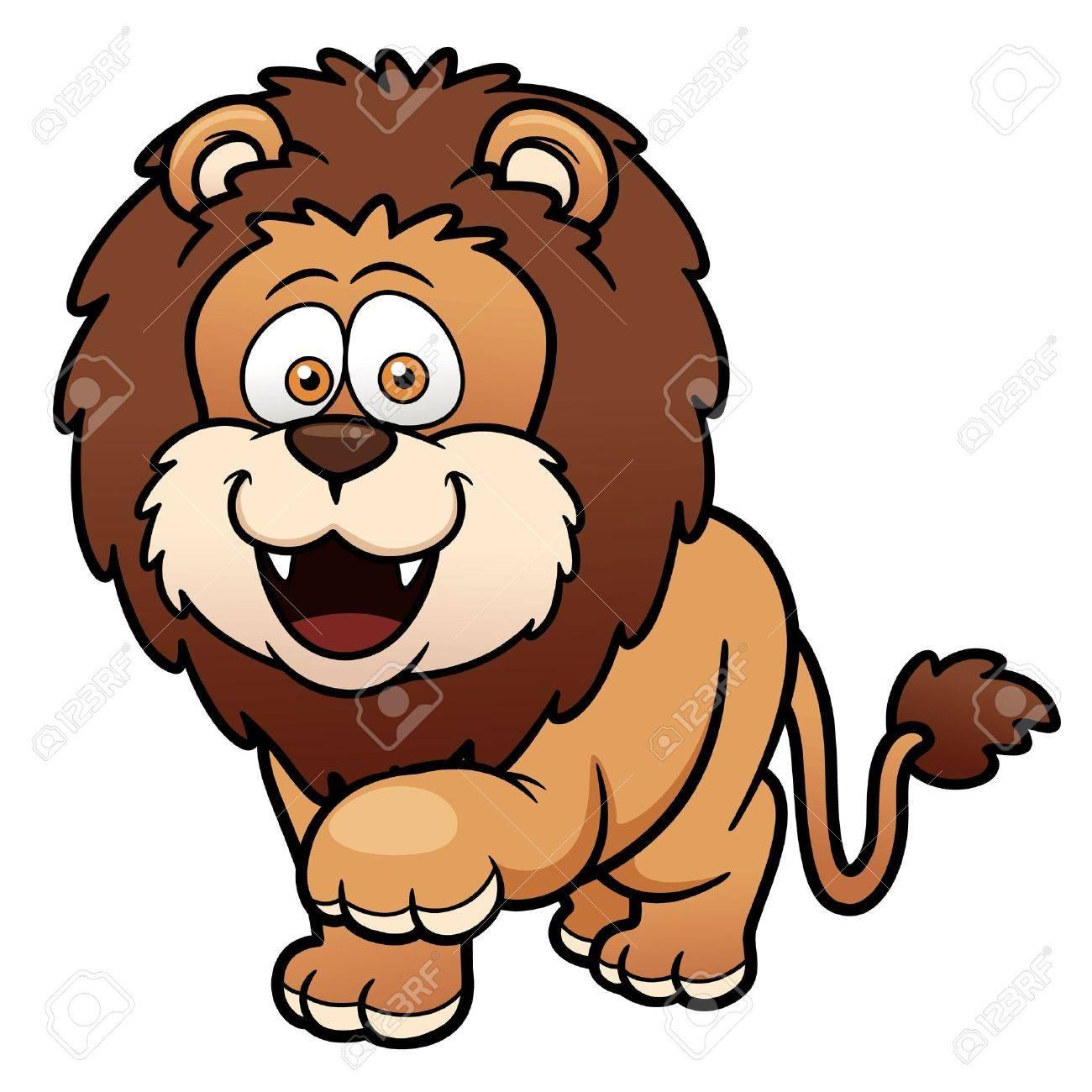 Vector illustration of Cartoon lion Stock Vector - 19336611