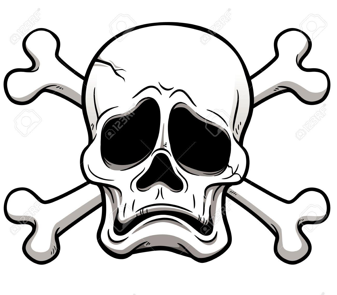 骸骨のイラストのイラスト素材ベクタ Image 19552790