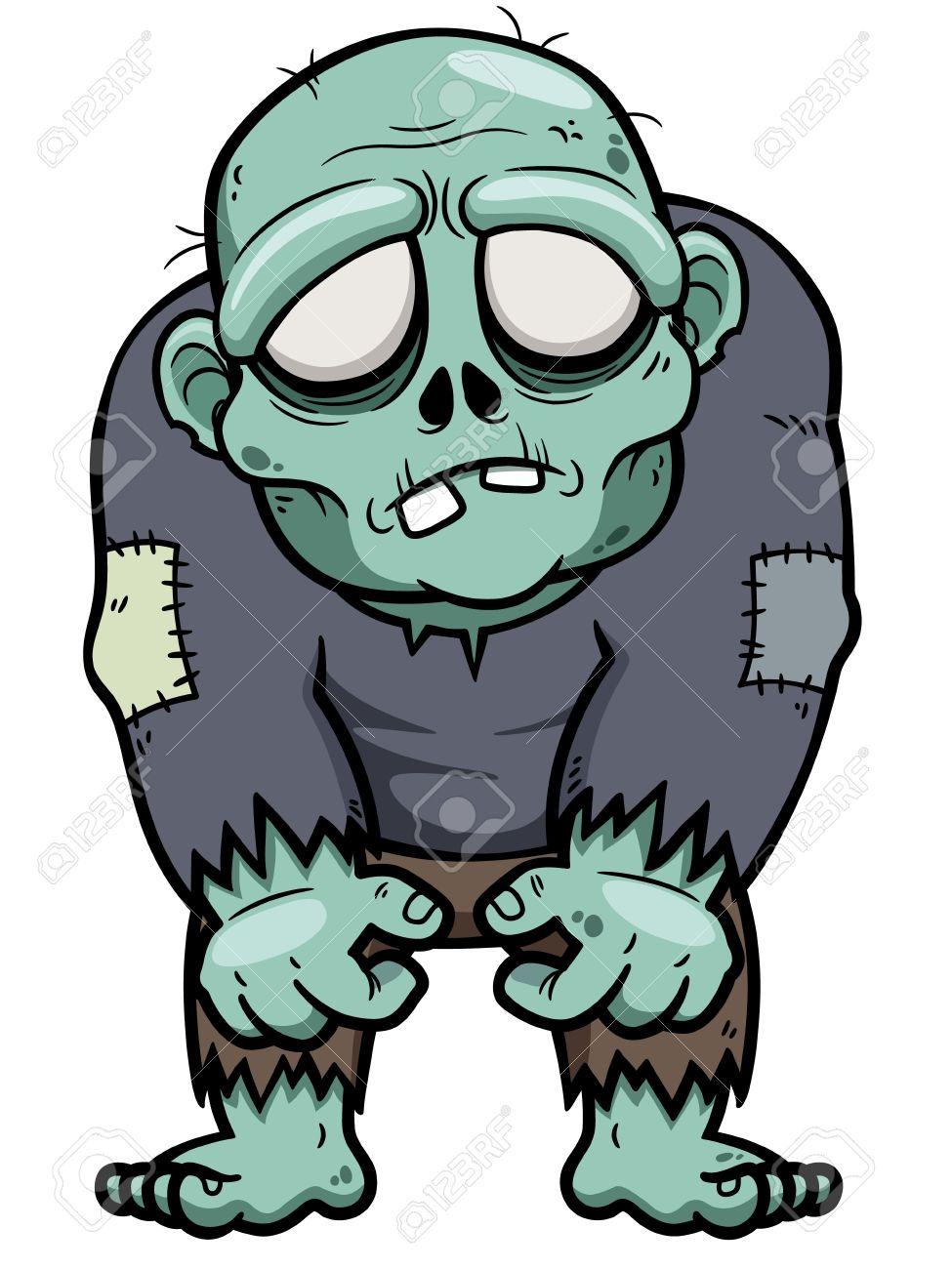 Vector illustration of Cartoon zombie Stock Vector - 22025596