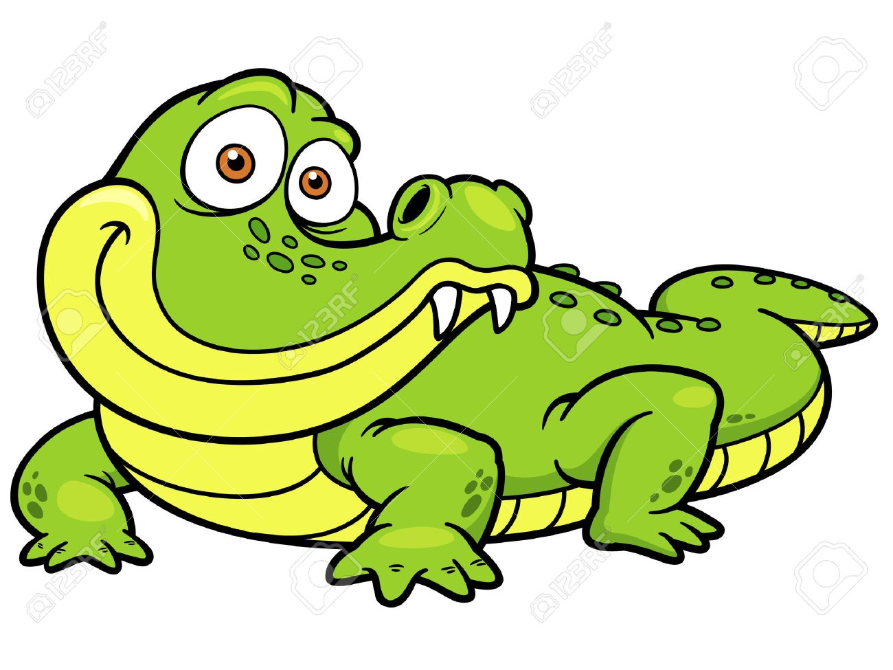 vector illustration of cartoon crocodile royalty free cliparts rh 123rf com crocodile clip art black and white crocodile clipart image